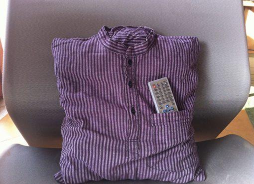 camicia cuscino