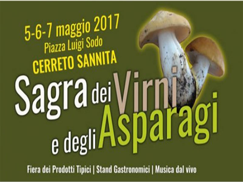 sagra virni e asparagi Cerreto Sannita