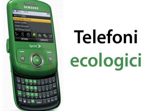telefoni ecologici